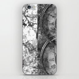 As Time Flies it Dissolves  iPhone Skin