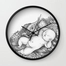 Divine Baby Wall Clock