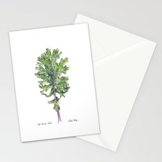 Red Russian Kale Stationery Cards