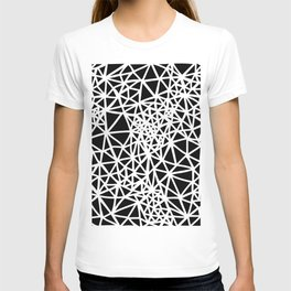 Glass Jewerly in black T-shirt