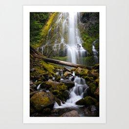 Proxy Falls, Oregon Art Print