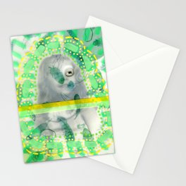 Incognito Girl Stationery Cards