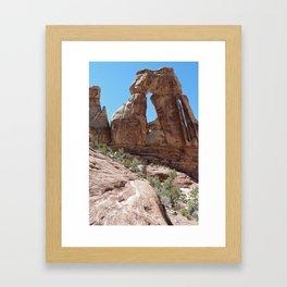 Druid Arch Framed Art Print