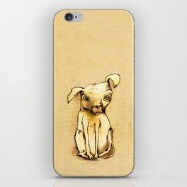 Ugly dog II iPhone Skin