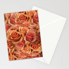 Roman Grenadier Roses Stationery Cards