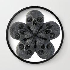 Skull Mandala Test No.2 Wall Clock