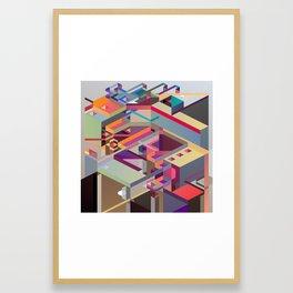 Fabrik 1 Framed Art Print