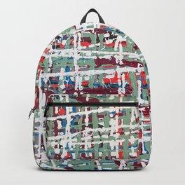 Crisscrossing Backpack