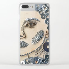 Tool Girl Clear iPhone Case