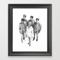 Star Trek - Let's see V'ger Framed Art Print