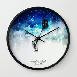 Beyond the clouds | Doctor Who Wall Clock