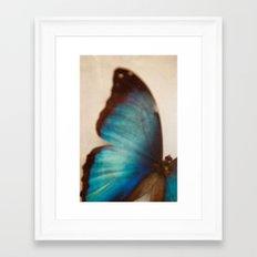 cerulean Framed Art Print