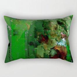 glitch cloud 2. Rectangular Pillow