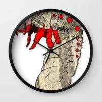 bug Wall Clocks featuring bug by Karneeleus