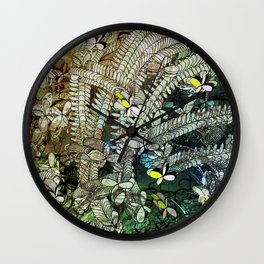 Atlante 22-05-16 / FLORAL Wall Clock