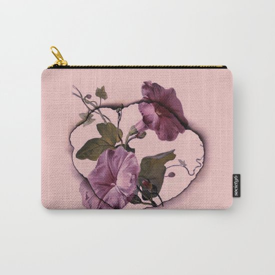 convolvulus and tile Carry-All Pouch