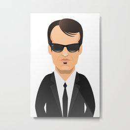 Tarantino - Mr. Brown Metal Print