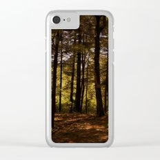 Tree Party Clear iPhone Case
