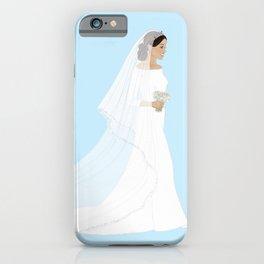 Royal Bride iPhone Case