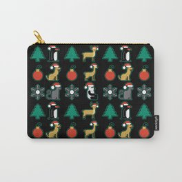 Holiday Animals Carry-All Pouch