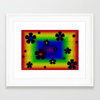 mod Framed Art Prints featuring Mod by Raffaella315