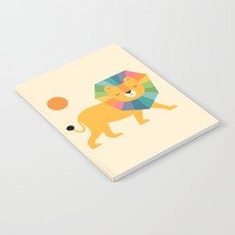 Lion Shine Notebook