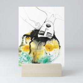 Sleeping Drag Queen Mini Art Print