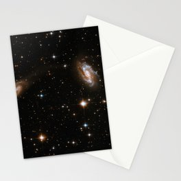 Hubble Space Telescope - Interacting Galaxies IRAS 18090+0130 (2008) Stationery Cards