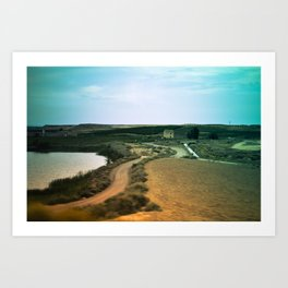 Journey landscape Art Print