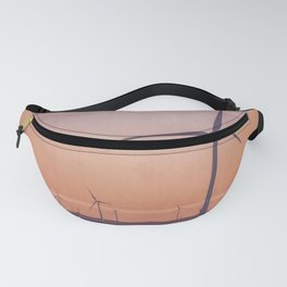 Southwest Windmills Route 66 Fanny Pack
