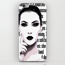 The Lady In The House Of Love iPhone Skin