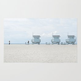 Venice Beach, L.A. Story Rug