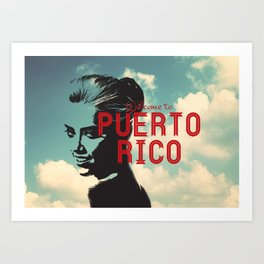 Sexy Puerto Rico Art Print