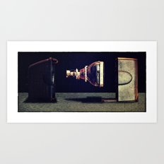 Cathode Ray Tube Art Print