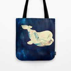 Space Beluga Tote Bag