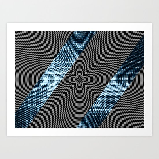 Trisected Hypnosis Art Print