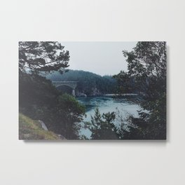 Deception Pass Metal Print