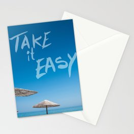 Take it easy II Stationery Cards