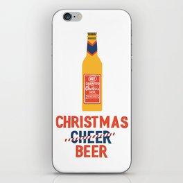CHRISTMAS BEER iPhone Skin