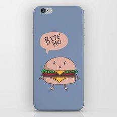 Bite me! iPhone & iPod Skin