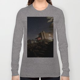 Starry Beach Long Sleeve T-shirt