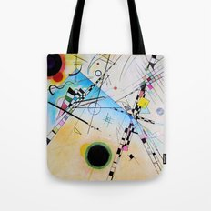 Kandinsky Reimagined Tote Bag