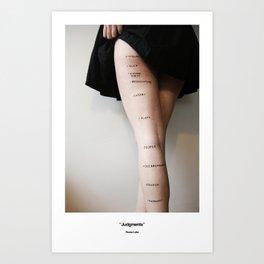Judgments Art Print