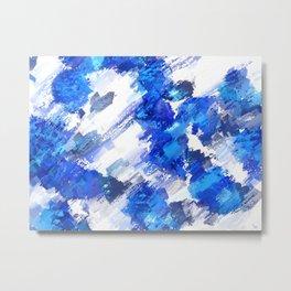 Blue Collective Metal Print