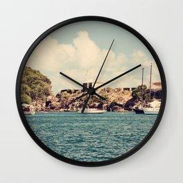 English Harbour, Nelson's Dockyard, Antigua Wall Clock