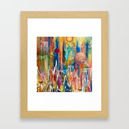Utopian Dreamscape Framed Art Print