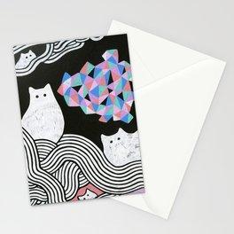 Magic Cats I Stationery Cards