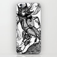 wild things iPhone & iPod Skins featuring Wild Things by intermittentdreamscapes