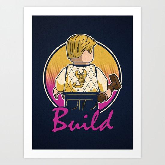 A Real Mini Hero Art Print