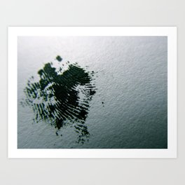 Ink Print Art Print